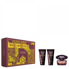 Versace Crystal Noir 50 ml set