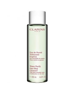 Clarins Water Purify One-Step Cleanser with Mint Essential Water 200 ml