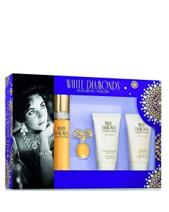 Elizabeth Taylor White Diamonds 50 ml set