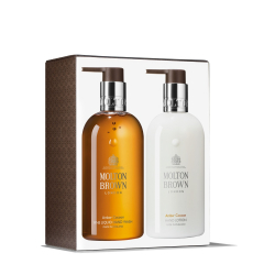 Molton Brown Amber Cocoon Hand Collection set