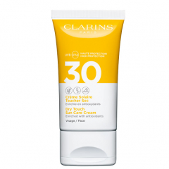 Clarins Sun Dry Touch Facial Sun Care Cream SPF30