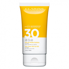Clarins Sun Invisible Facial  Sun Care Gel-to-Oil SPF30