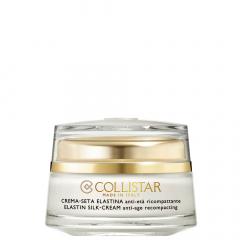 Collistar Gezicht Pure Actives Elastine Silk Cream Anti-Age 50ml OP=OP
