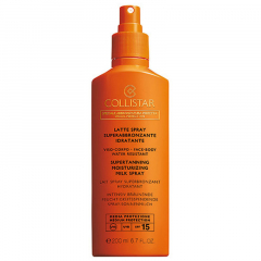 Collistar Zon Supertanning moisturizing milk spray SPF 15 - 200 ml OP=OP