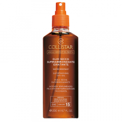 Collistar Zon Supertanning Dry Oil SPF 15 200 ml