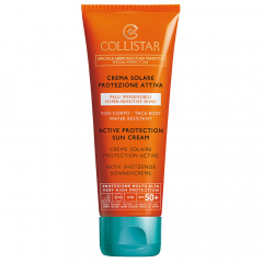 Collistar Zon Active Protection Tanning Cream SPF 50+ 100ml