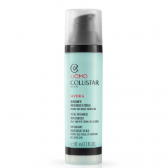Collistar Uomo Total Freshness Moisturizer Face and Eye Cream-Gel 24h 80 ml