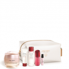 Shiseido Benefiance Wrinkle Smoothing Cream Enriched Pouch Set