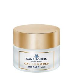 Sans Soucis Caviar & Gold Anti Age Deluxe 24H Care Rich 50 ml Droge Huid