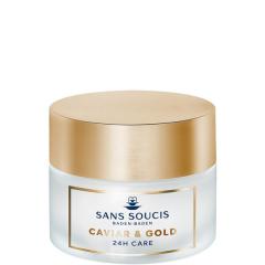 Sans Soucis Caviar & Gold Anti Age Deluxe 24H Care 50 ml Normale Huid