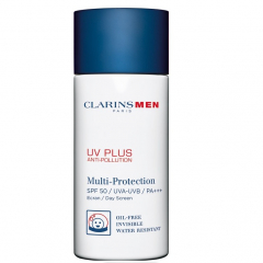Clarins Men UV Plus Anti-pollution SPF 50 UVA/UVB