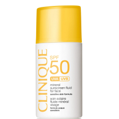 Clinique SPF 50 Mineral Sunscreen Face Lotion