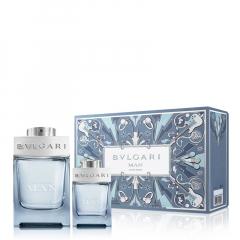 BVLGARI Man Glacial Essence 100 ml Kerstset 20/21