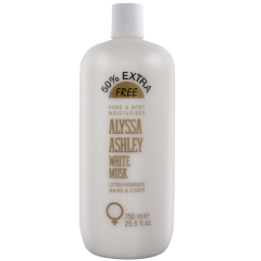 Alyssa Ashley White Musk 750 ml hand & bodylotion
